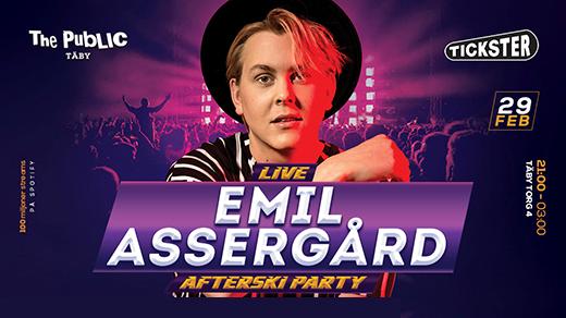 Bild för Emil Assergård LIVE @ The Public Täby, 2020-02-29, The Public Club Täby