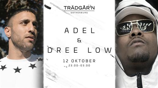 Bild för Adel & Dree Low - 12 Oktober - Trädgår´n, 2019-10-12, RESTAURANG TRÄDGÅR'N