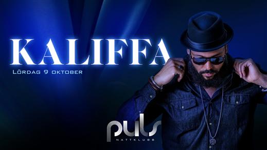 Bild för Kaliffa live / Lördag 9 Oktober / Puls Nattklubb, 2021-10-09, Puls Nattklubb
