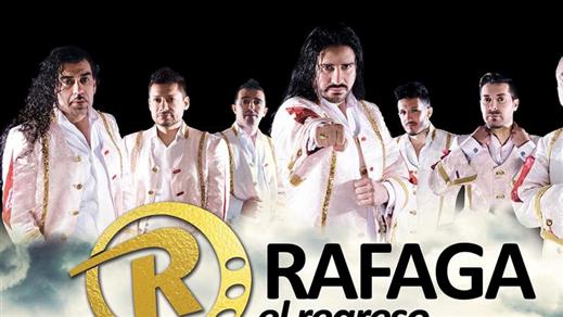 """Bild för RAFAGA """"El regreso"""" live i Malmö, 2018-05-05, Moriska Paviljongen"""