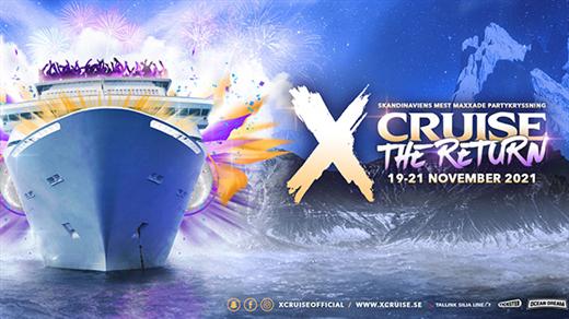 Bild för X-CRUISE - THE RETURN - 19 -21 NOVEMBER, 2021-11-19, Värtahamnen