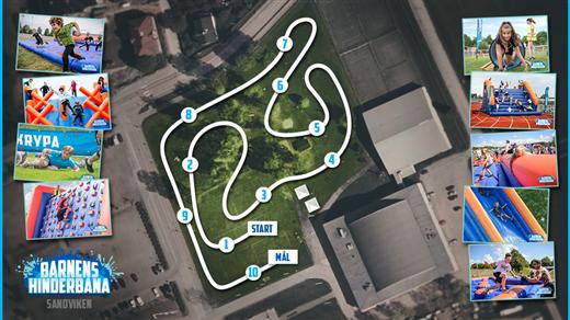 Bild för Sportlördag - Barnens hinderbana, 2019-09-14, Göransson Arena Sport #2