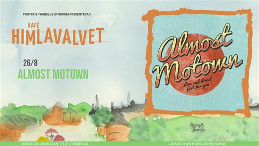 Bild för Almost Motown, 2021-08-26, Kafé Himlavalvet