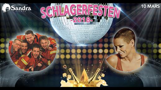 Bild för Schlagerfesten 2018, 2018-03-10, Nöjespalatset Sandra