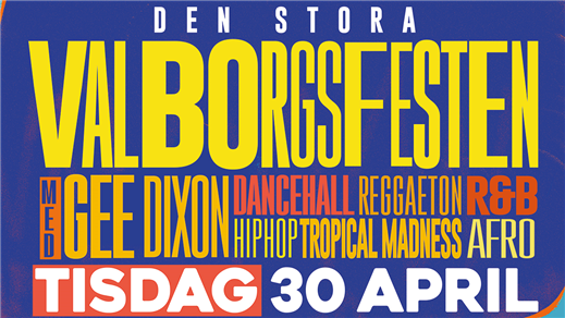 Bild för Valborgsfesten + Gee Dixon (SE) LIVE –30 april, 2019-04-30, Babel