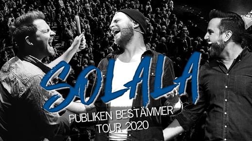 Bild för INSTÄLLT: Solala - Publiken Bestämmer Tour 2020, 2020-05-08, UKK - Stora salen