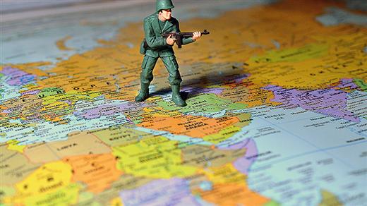 Bild för Konflikter i Mellanöstern och geografins makt, 2020-03-17, Armémuseum