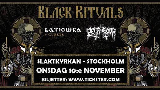 Bild för BATUSHKA / BELPHEGOR + support -Slaktkyrkan, STHLM, 2021-11-10, Slaktkyrkan