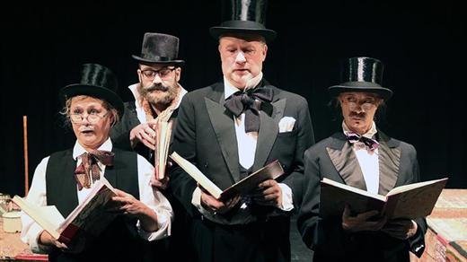 Bild för Ågust och hans vänner, 2021-10-27, Teater Bråddgatan 34, 1:a kammaren