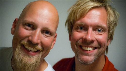 Bild för LunchTajm - Fredrik & Patrik, 2018-04-10, Folkan Teater