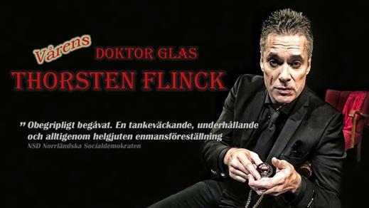 Bild för Thorsten Flinck Spelar Doktor Glas, 2020-03-20, Saga Salongen Torshälla