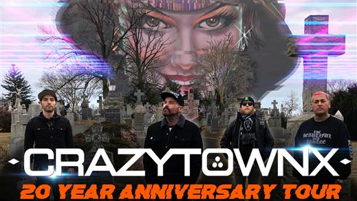 Bild för Crazy Town 20 year anniversary tour, 2019-07-28, Rack´n´Roll