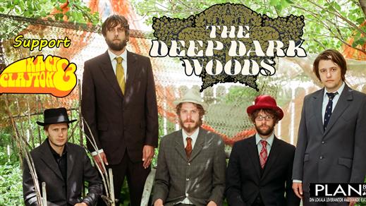 Bild för Deep Dark Woods + Kacey & Clayton, 2018-04-22, Plan B