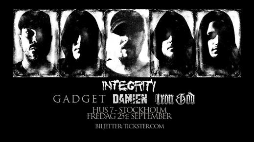 Bild för Integrity / Gadget / Damien / Iron God, 2020-09-25, Hus7