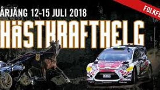 Bild för Hästkraftshelgen 1 dags biljett 13/7, 2018-07-13, Årjängs Hotell
