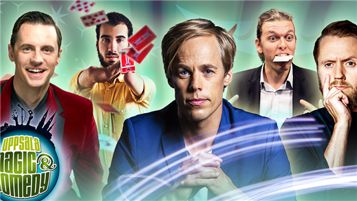 Bild för Uppsala Magic & Comedy: Close Up Gala, 2019-05-03, Humanistiska teatern