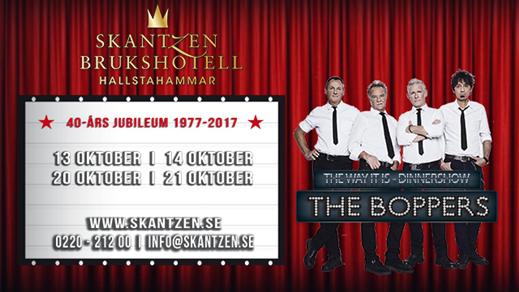 Bild för The Boppers 21 oktober, 2017-10-21, Skantzen Brukshotell