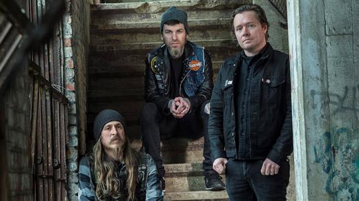 Bild för Black Tusk + Wolves in Haze, 2019-05-09, Musikens Hus Stora Scen