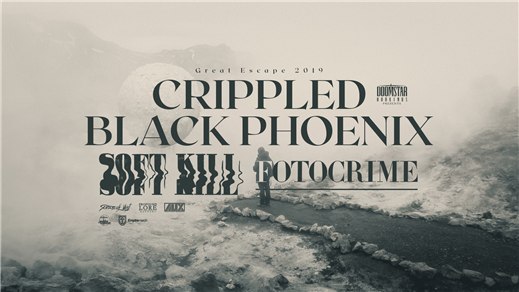 Bild för Crippled Black Phoenix / Soft Kill / Fotocrime, 2019-03-26, Kraken