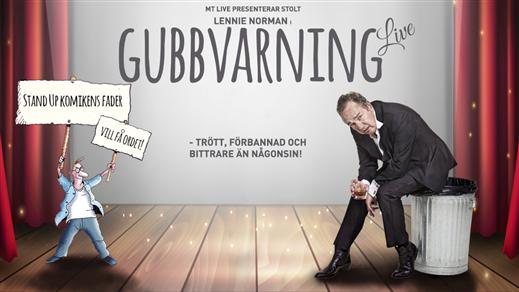 Bild för Lennie Norman - Gubbvarning Live!, 2019-03-16, Joar Blå