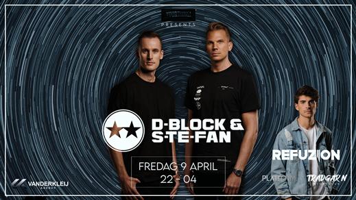 Bild för D-BLOCK & S-TE-FAN - Trädgårn - Fredag 9 April, 2021-04-09, TRÄDGÅR'N