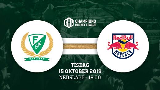 Bild för FÄRJESTAD BK - RED BULL MUNICH (ståplats), 2019-10-15, Löfbergs Arena