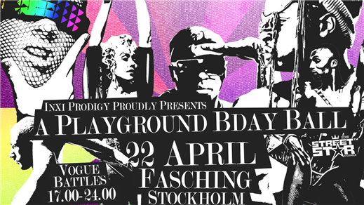 Bild för A PLAYGROUND BIRTHDAY BALL!, 2018-04-22, Fasching
