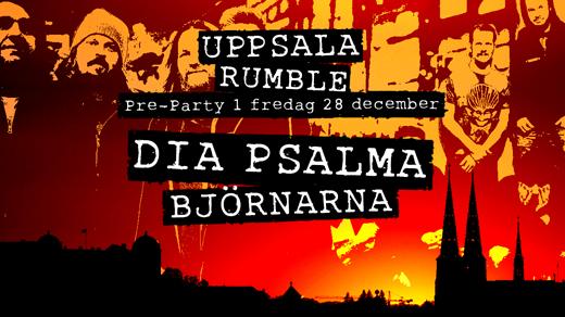 Bild för Uppsala Rumbles Pre-Party Dia Psalma & Björnarna, 2018-12-28, Katalin