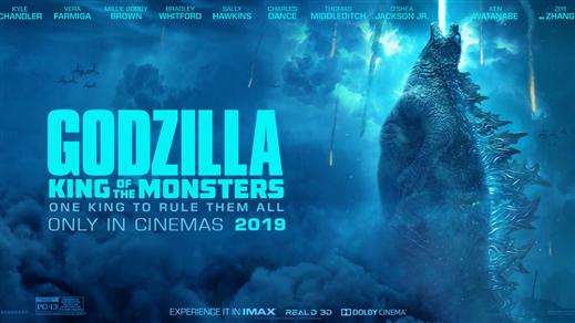 Bild för Godzilla II King of the Monsters, 2019-05-30, Kulturhuset i Svalöv