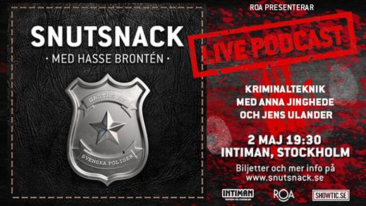 Bild för Snutsnack LIVE, 2019-05-02, Intiman