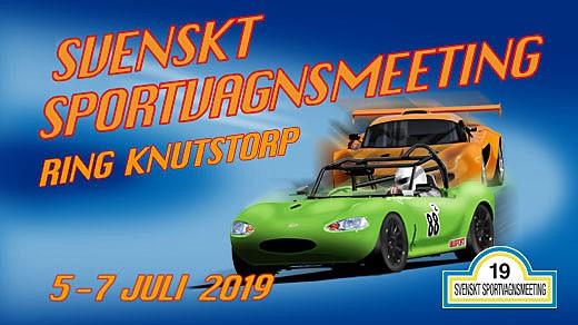 Bild för Svenskt Sportvagnsmeeting, 2019-07-05, Ring Knutstorp