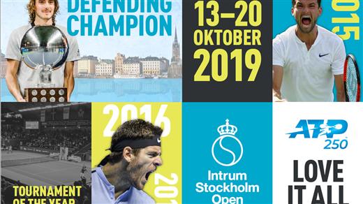 Bild för Intrum Stockholm Open Familjedag/ Kval Sönd 13/10, 2019-10-13, Kungl. Tennishallen