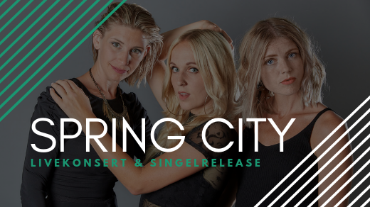 Bild för Spring City - exklusiv konsert med band, 2019-04-14, Immanuelskyrkan