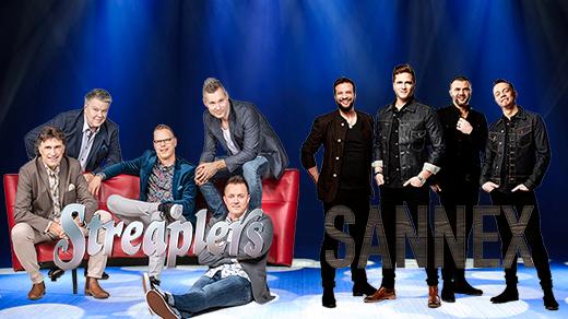 Bild för Danskväll med Streaplers och Sannex, 2019-01-04, Arena Varberg,Sparbankshallen