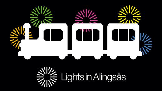 Bild för Tåget - Lights in Alingsås - 25 okt kl. 19:45 SLUT, 2019-10-25, Åmanska Parken