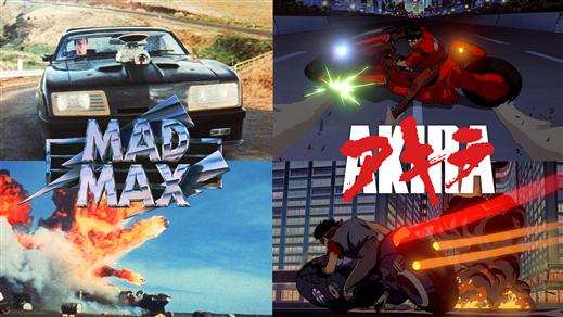 Bild för Sci-Fi Night - Akira & Mad Max, 2020-02-22, Ersboda Folkets Hus