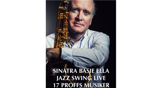 Bild för Livejazz Johan Stengård Big Band, 2021-10-17, Danderydsgården