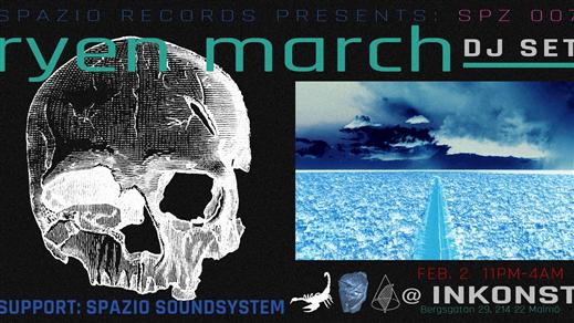 Bild för Spazio Records releasefest: Ryen March, 2019-02-02, Inkonst