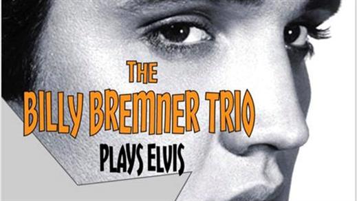Bild för Elvisafton med Billy Bremner Trio, 2018-11-01, Café Gula Huset