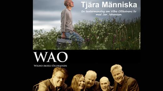 Bild för Tjära människa / WAO, 2018-03-24, Teatersalongen