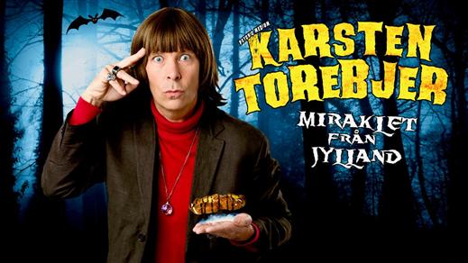 Bild för KARSTEN TOREBJER - MIRAKLET FRÅN JYLLAND 8/3, 2019-03-08, Hebeteatern, Folkets Hus Kulturhuset