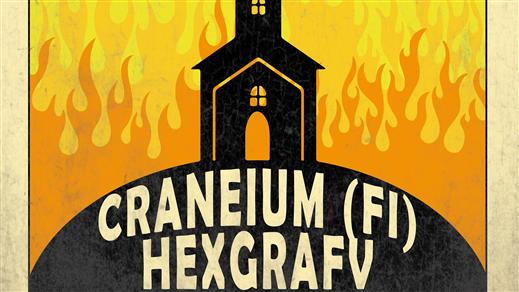 Bild för Craneium (FI) + Hexgrafv (SE), 2020-04-03, The Southside Cavern, Pub Southside