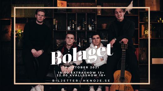 Bild för Bolaget 16/10 22.00 - 02.00 18+, 2021-10-16, Stadshuset Sundsvall