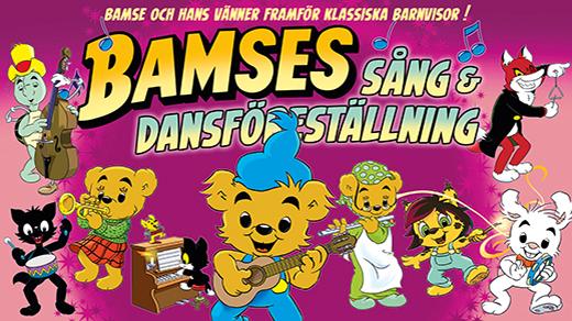 Bild för Bamses sång- och dansföreställning 14:00, 2018-09-22, UKK - Stora salen