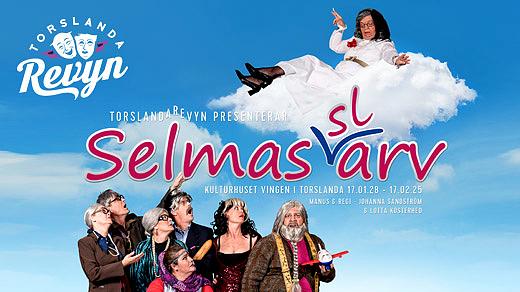 Bild för Selmas (sl)arv - Lördag 28 jan 2017 - 18:00, 2017-01-28, Kulturhuset Vingen