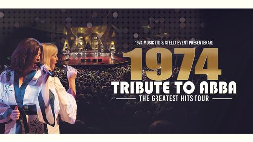 Bild för 1974 Tribute to ABBA - The greatest hits tour, 2019-03-28, OSD - Peterson Berger-Hallen