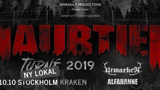 Bild för Raubtier, Alfahanne, Utmarken Kraken Stockholm, 2019-10-10, Kraken