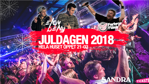 Bild för JULDAGEN 2018, 2018-12-25, Nöjespalatset Sandra