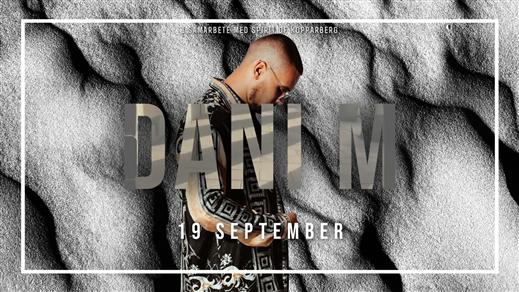 Bild för DANI M (Live) - Lördag 19 September - Trädgårn, 2020-09-19, TRÄDGÅR'N