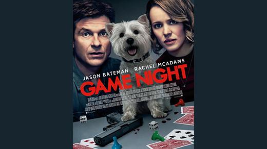 Bild för Game Night (11 år), 2018-03-09, Biosalongen Folkets Hus